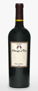 menage a trois red wine